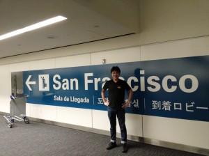 ถ่ายรูปกับป้าย San Francisco