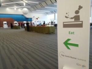 อาหารเช้าในงาน Google TC Summit 2013